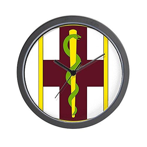 CafePress - 1St Medical Brigade SSI - Unique Decorative 10' Wall Clock