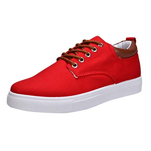 【MOHOLL】 Men's Student Leisure Shoes Small White Shoes Board Shoes Canvas Sneaker Classic Skate Shoes
