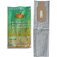 8 Oreck TYPE CC xl HEPA Filtration Allergy Odor Neutralizing vacuum bags, Fits All XL7, XL21, 2000s, 3000s, 4000s, 8000s, 9000s series model Upright Vacuum Cleaners, CCPK8DW, CCPK8, PK80009DW, PK80009, 2000s, 3000s, 4000s, 8000s, 9000s XL7, XL200S, XL21 XL-9100C, XL-9200, XL-9300, XL-9400, XL9100HG SL-100C, XL-888, XL-5000, XL-5300, XL-8300