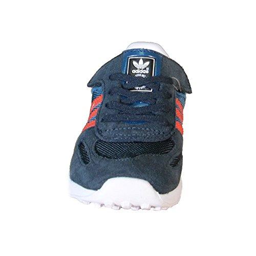 Adidas - Adidas La Trainer CF I Zapatos Niño Azul Cuero Tejido M17131 - Azul, Intel Core 2 Duo para 1,8 GHz