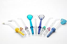 Oralcare® Ultra Water Flosser includes Classic Jet Tips ,Tongue Cleaner Tips,Tooth Pocket Tips , Orthodontic Tips . Classic Professional Water Flosser