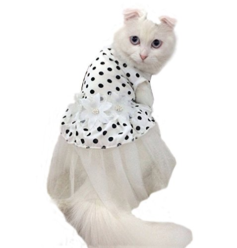 iPet-Princess-Floral-Cat-Party-Bridal-Wedding-Dress-Small-Dog-Flower-Tutu-Ball-Gown-Puppy-Dot-Skirt-Doggy-Photo-Apparel-Stretchy-Clothes-Mesh-Costume-for-Spring-Summer-Wear