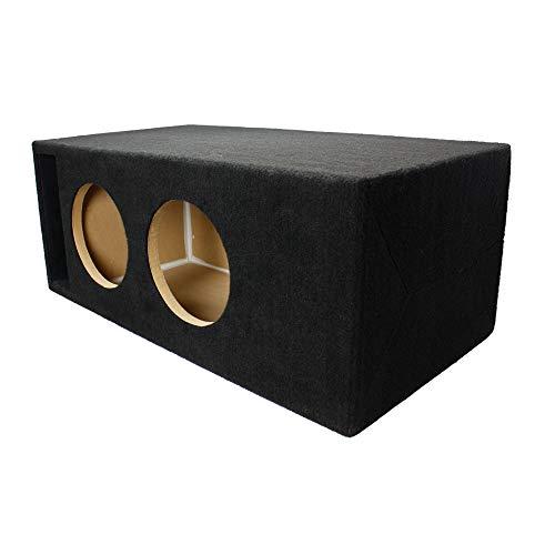 LAB SlapBox 1.40 ft^3 Ported/Vented MDF Sub Woofer Enclosure for Pair of Sundown Audio SA-8 v1 v2 v3 (SA8) Car Subwoofers – 3/4″ Premium MDF Construction – Made in U.S.A.