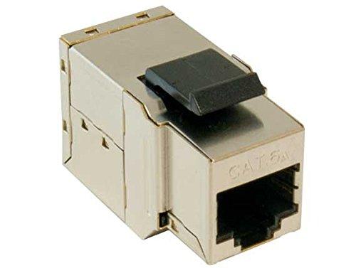 RiteAV - RJ45 Female to Female STP CAT.6A Keystone Coupler, Shielded (10GB)