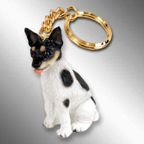 (Conversation Concepts Rat Terrier Tiny Ones Dog Keychains (2 1/2 in))