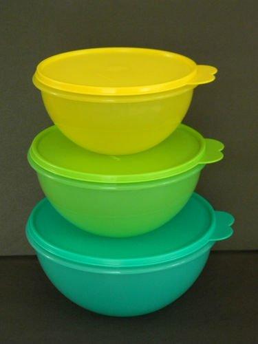 Tupperware Wonderlier Bowl 3-Pc. Set by Tupperware
