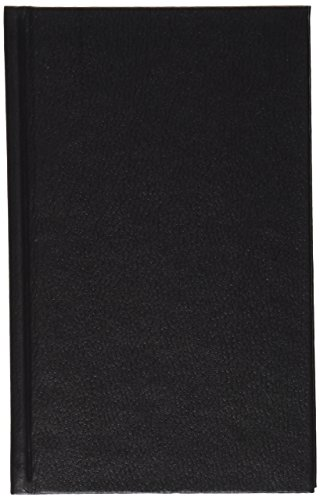 Boorum & Pease Bound Memo Book, 1 Each, Black   3808 1/2