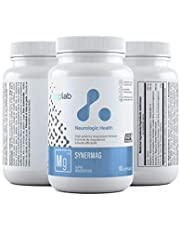 ATP LAB Synermag. Elemental Magnesium Supplement. High Potency. Malate and Glycinate - 90 Capsules 90 count