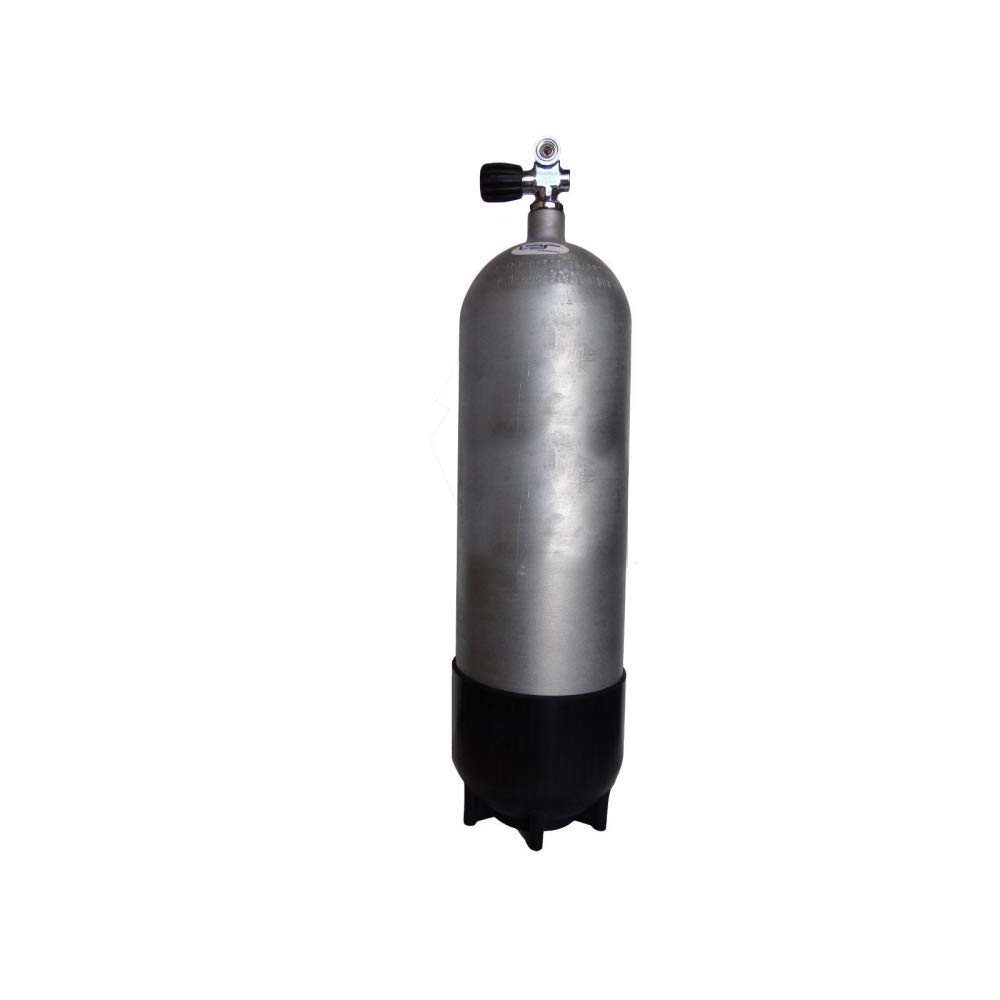 Faber FXG Hot Dip Galvanized Steel Scuba Tank 3442 psi Cylinder (100 cu ft (12.9 liters))