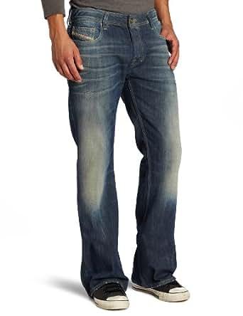 Diesel Men's Zathan Regular Bootcut Leg Jean 0805U, Denim, 28x30