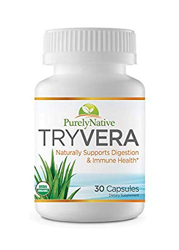 TRYVERA - Naturally Relieves Bouts of Indigestion, Acid Reflux, Heartburn, Gas, Bloating and Constipation. Helps with Regularity & aids Digestion. (Best Natural Cure For Constipation)