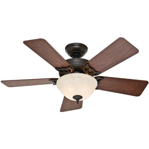 Quiet ceiling fan amazon hunter kensington ceiling fan kit 51014 42 inch new bronze mozeypictures Choice Image