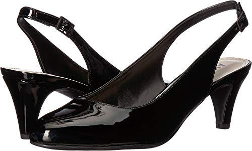 Sandals Klein Anne Patent Leather - Anne Klein Women's Reisley Black Patent Pu 6.5 M US