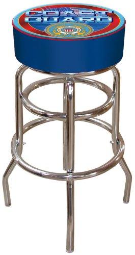 Admirable United States Coast Guard Padded Swivel Bar Stool Machost Co Dining Chair Design Ideas Machostcouk