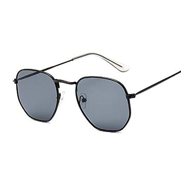 QDE Gafas de sol Gafas De Sol Ovaladas Mujer Hombre Gafas ...