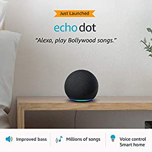 All-new Echo Dot (4th Gen) | Next generation smart speaker