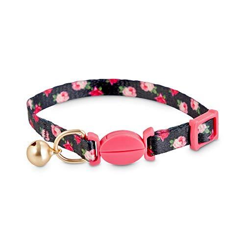 Good2Go Pink Rose Print Breakaway Kitten Collar, Standard