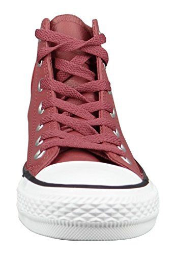 Star Hi Converse Cuir Bordeaux All 5Xv7xwqp