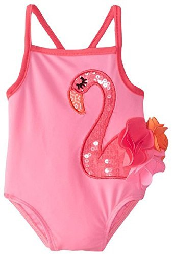 3502203183 Image Unavailable. Image not available for. Color: Mud Pie Baby Girl's Flamingo  Swim ...