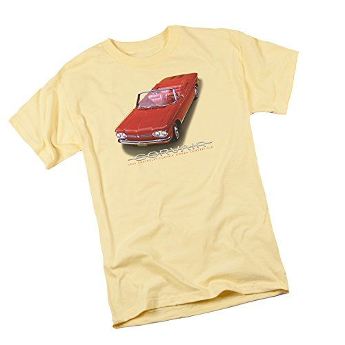1962 Corvair Convertible -- Chevrolet Adult T-Shirt, XX-Large (Convertible Corvair 1962)