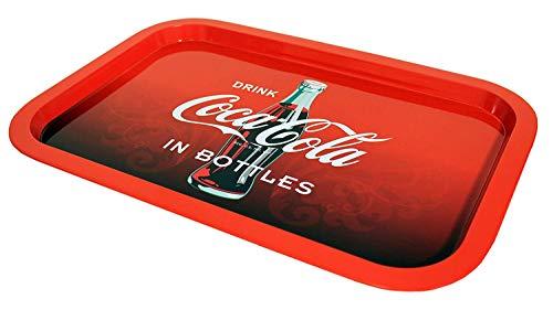2 Pk. The Tin Box Company Coca Cola Red Coke Tin Tray