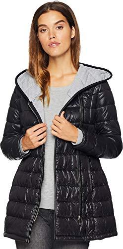 Sam Edelman Women's Asymmetrical Jersey Lined Jacket Black - Asymmetrical Jersey