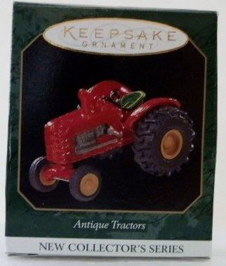 Hallmark Keepsake Ornament - Antique Tractors - #1 Collector's Series - Miniature QXM4185