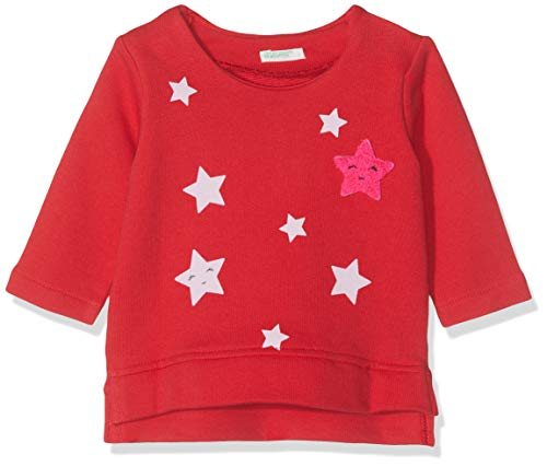 United Colors of Benetton Collage BB G2 Sudadera, Rojo (Rosso ...