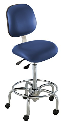 - BioFit Class 100 Chair, Ergonomic; Type N, Grade 2 Vinyl, Blue, Bench High 27-32