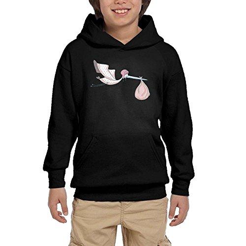 Discount Crane Girls Pullover Hoodie Hip Hop Pocket Sweater