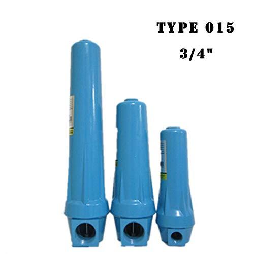 Ochoos 3/4'' DN20 Cast Aluminium Precision Filter 015 Q P S C Air Water Separator for Air Compressor Oil Water Separator - (Color: 015 C)