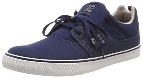 Hombre Nvy Heathrow Vulc Shoes para DC Azul TX Zapatillas Navy zYqaxzPw