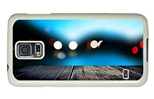 Hipster Samsung Galaxy S5 Cases brand new pier evening lights PC White for Samsung S5