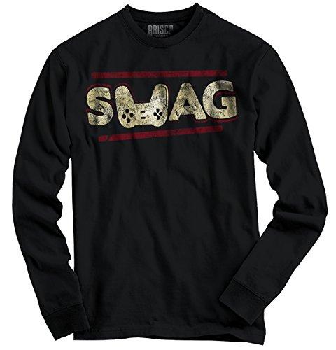 Xbox 360 T-shirt - Swag Gamer Shirt | Xbox 360 PC Playstation 4 Vita Nerd Geek Long Sleeve Tee