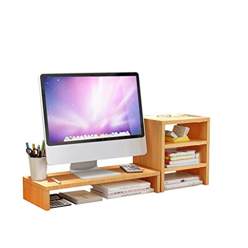 Screen Computer Monitors Increased Shelf Storage Rack Mount Finishing The Desktop Keyboard Tray Carrier Sub-Lift Booster (Size : 3)