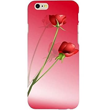 Casotec Red Roses Design Hard Back Case Cover for Apple iPhone SE Mobile Accessories