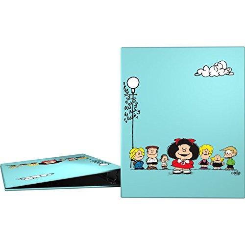 Grafoplás 88171947-carpeta di anelli A4motivo Mafalda Amici, 4anelli, 40mm Grafoplas