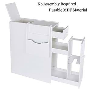 ustyle bathroom storage floor cabinet wood slim bathroom cabinet standing toilet. Black Bedroom Furniture Sets. Home Design Ideas