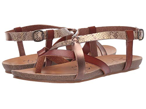 Blowfish Women's Granola, Scotch/Amber/Desert Rose Mirage Snake,Size 11 M US
