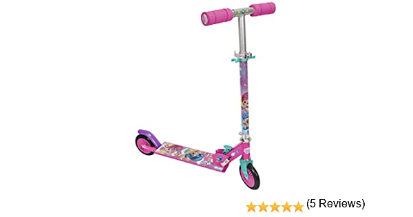 Shimmer And Shine- Patinete 2 Ruedas (Saica 2669)