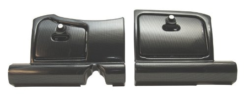 Best Turf West-SP E-Z-GO RXV Dash Carbon Fiber (2pc)-CF Doors