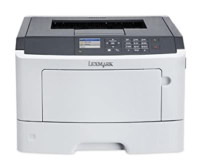 Lexmark MS510dn Compact Monochrome Laser Printer, Network Ready, Duplex Printing and Professional Features