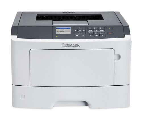 Lexmark 35SC260 MS417dn Compact Laser Printer, Monochrome, Networking, Duplex Printing
