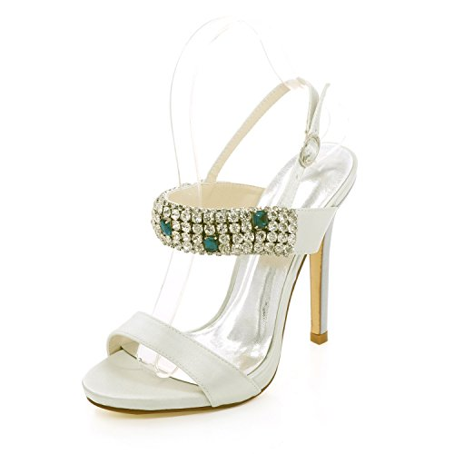 Sandalen Boren Qingchunhuangtang @ Hoge Hakken, Sandalen, Schoenen, Schoenen Huwelijk Bruiloft, Feest En Kleding Schoenen Ivoor