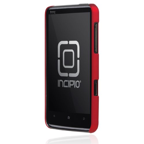Incipio HTC HD7 Feather Ultralight Hard Shell Case - 1 Pack - Case - Retail Packaging - Iridescent Bright Red
