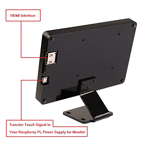 Raspberry Pi Screen, iUniker 5-inch Multi-Touch Capacitive