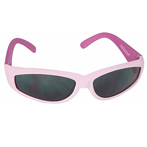 Pink Rubber Frame Sunglasses for Toddler Girls Ages 2-5 Yrs. by Sun - For Best Sunglasses A Girl