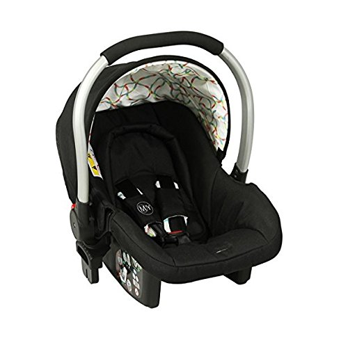 Mychild Floe Group 0+ Car Seat Rainbow Squiggle