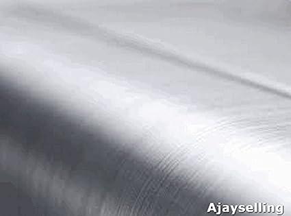 En Aluminium Brossé /Acier voiture pour ordinateur portable Film de vinyle avec Air dran