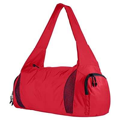 Augusta Sportswear Shouler Strap Zippered Competition Bag, Red, One Size new